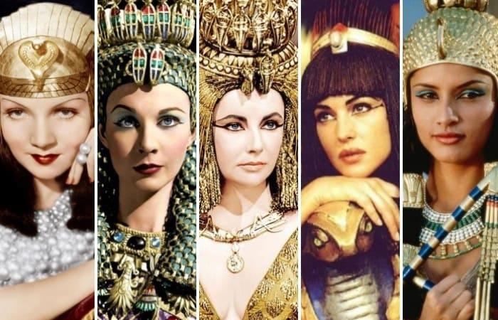 Актрисы, которые сыграли роль Клеопатры в кино | Фото: feme.ua, bigpicture.ru и izuminki.com
