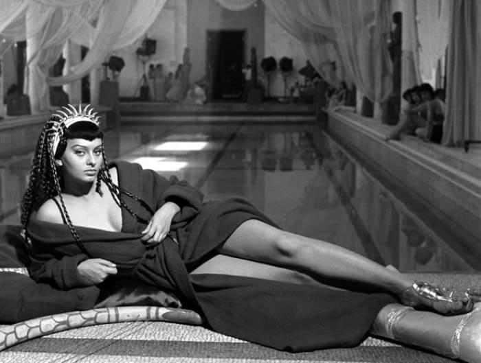 Софи Лорен в роли Клеопатры | Фото: izuminki.com