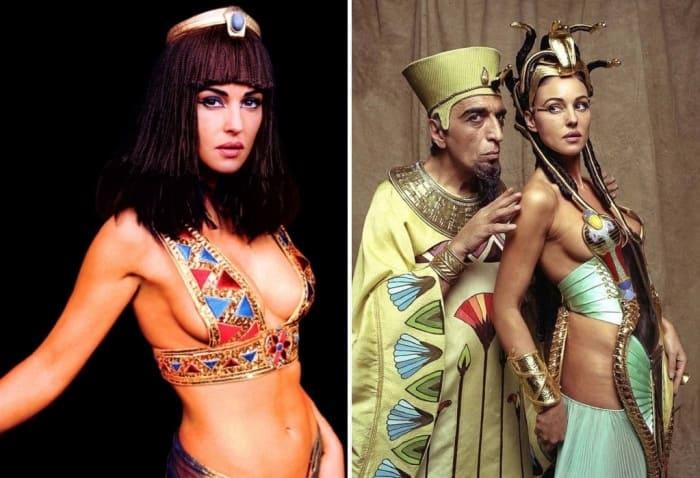 Моника Беллуччи в роли Клеопатры | Фото: feme.ua и love2beauty.ru