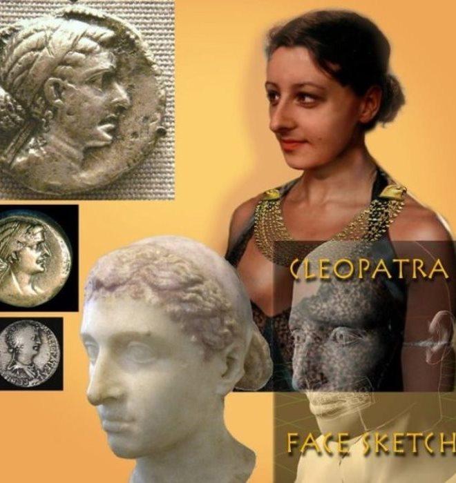 Еще одна попытка воссоздания внешнего облика Клеопатры