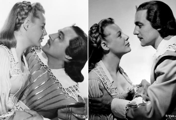 Джун Эллисон в фильме *Три мушкетера*, 1948   Фото: kinoistoria.ru