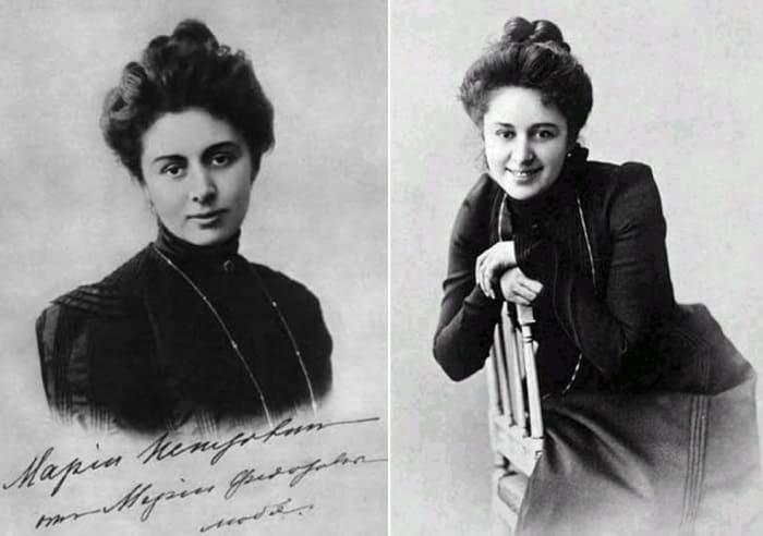Актриса Мария Федоровна Андреева | Фото: dayonline.ru и liveinternet.ru