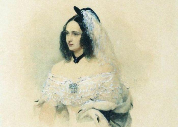 В. Гау. Н. Н. Пушкина, урожденная Гончарова, 1842   Фото: liveinternet.ru