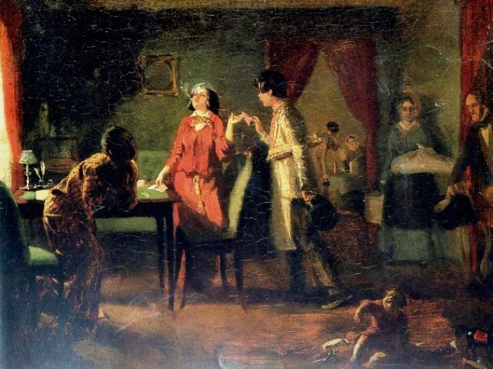 П. Федотов. Жена-модница (Львица), 1849 | Фото: artvek.ru