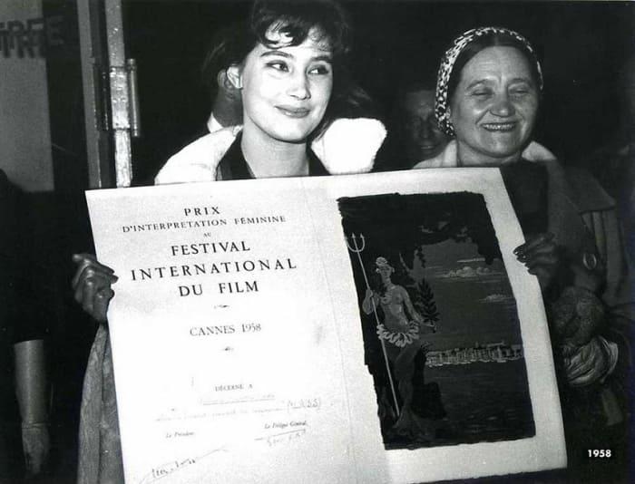 Татьяна Самойлова на Каннском кинофестивале, 1958 | Фото: tvkinoradio.ru