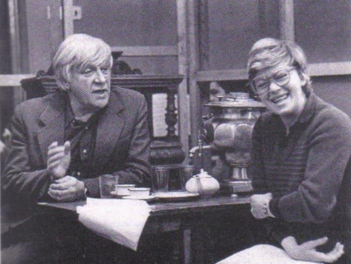 Игорь Владимиров и Алиса Фрейндлих на репетиции, начало 1980-х гг. | Фото: kino-teatr.ru