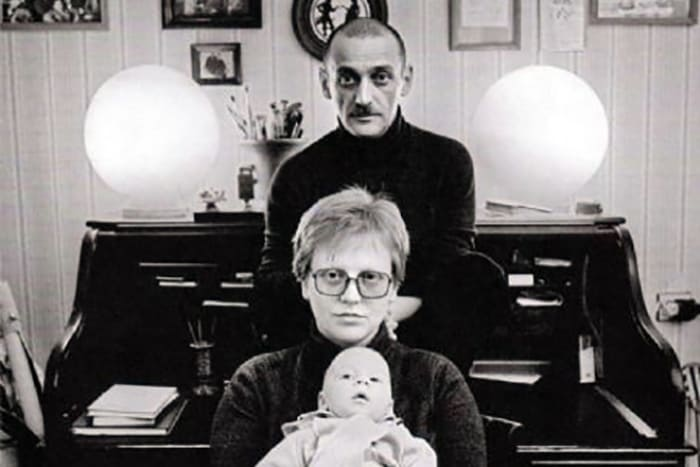 Актриса с мужем, Юрием Векслером, и их сыном Дмитрием | Фото: 24smi.org