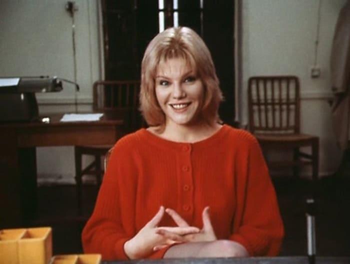 Александра Захарова в фильме *Криминальный талант*, 1988 | Фото: vokrug.tv