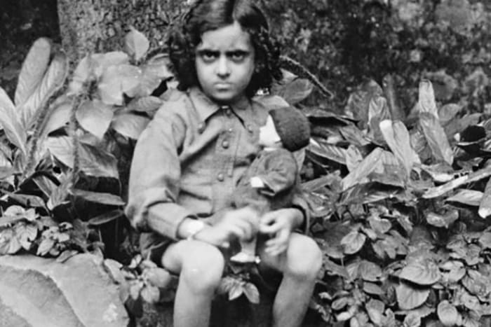 Индира Ганди в детстве | Фото: 24smi.org