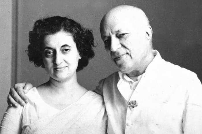 Индира Ганди с отцом | Фото: 24smi.org