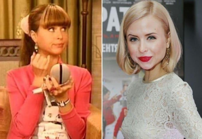 Мирослава Карпович в сериале *Папины дочки* и в наши дни | Фото: starhit.ru