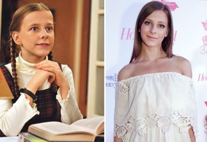 Лиза Арзамасова в сериале *Папины дочки* и в наши дни | Фото: starhit.ru