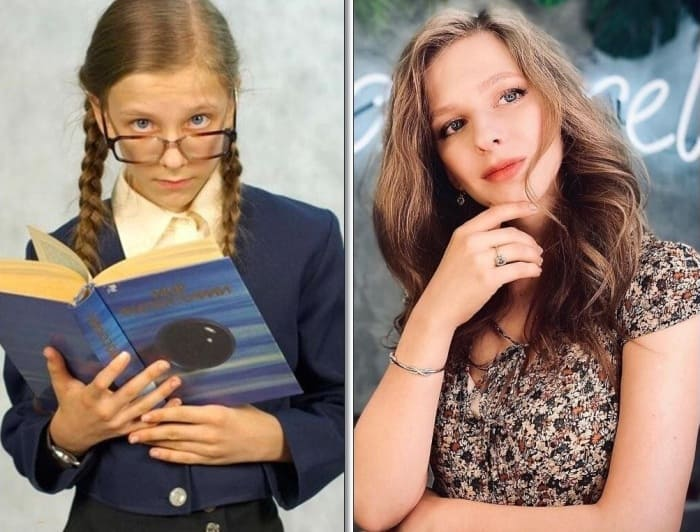 Лиза Арзамасова в сериале *Папины дочки* и в наши дни | Фото: love-psy.ru