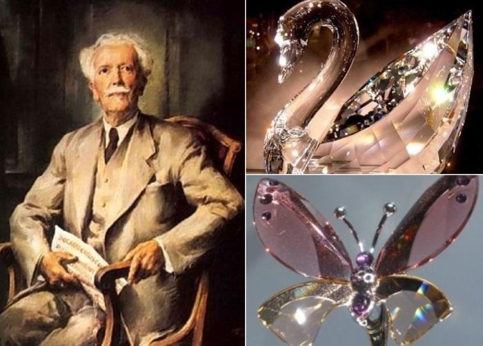 Даниэль Сваровски и его волшебные кристаллы | Фото: lichnosti.net и clubjewelers.com
