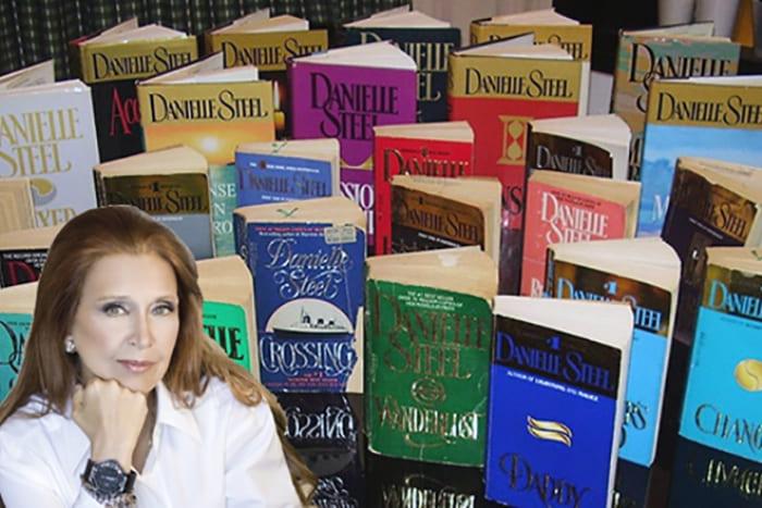 Даниэла Стил и ее книги | Фото: 24smi.org