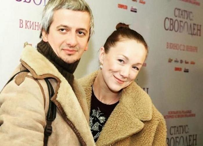 Актриса с мужем, режиссером Константином Богомоловым | Фото: 7days.ru