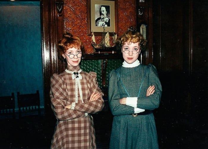 Дарья Мороз с матерью, 2000 | Фото: wday.ru
