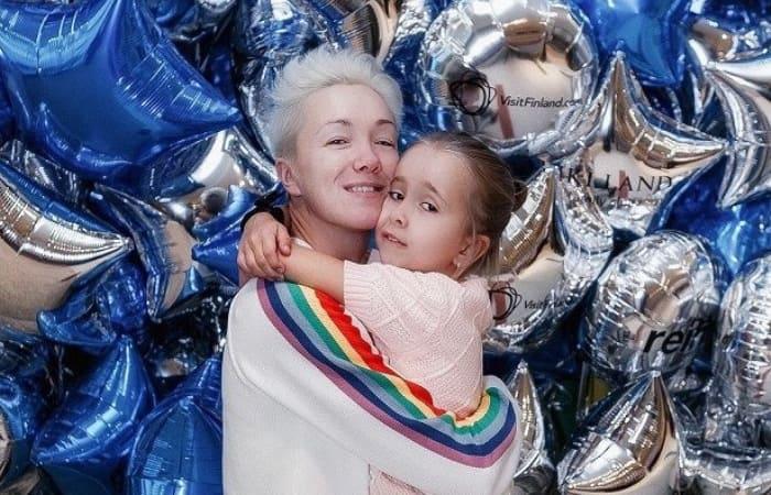 Актриса с дочерью Анной   Фото: uznayvse.ru