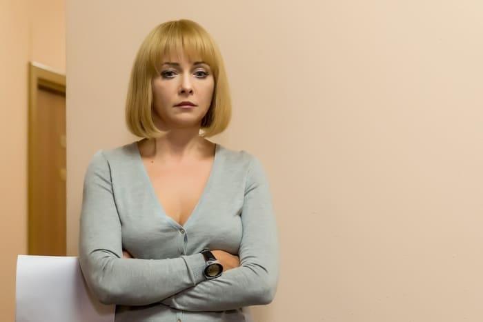 Дарья Повереннова в сериале *Дожить до любви*, 2018   Фото: kino-teatr.ru