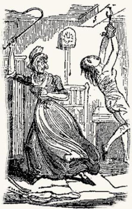 Прислугу жестоко наказывали за любую провинность