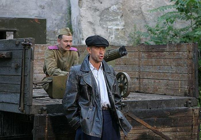 Владимир Машков в роли Давида Гоцмана в фильме *Ликвидация*, 2007