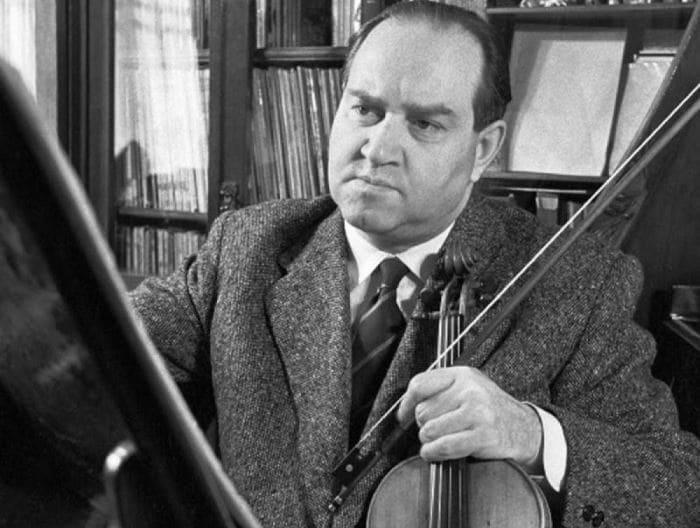 *Первая скрипка мира* Давид Ойстрах | Фото: jewishnews.com.ua