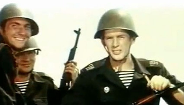 Кадр из фильма *Про Витю, про Машу и морскую пехоту*, 1973   Фото: kino-teatr.ru