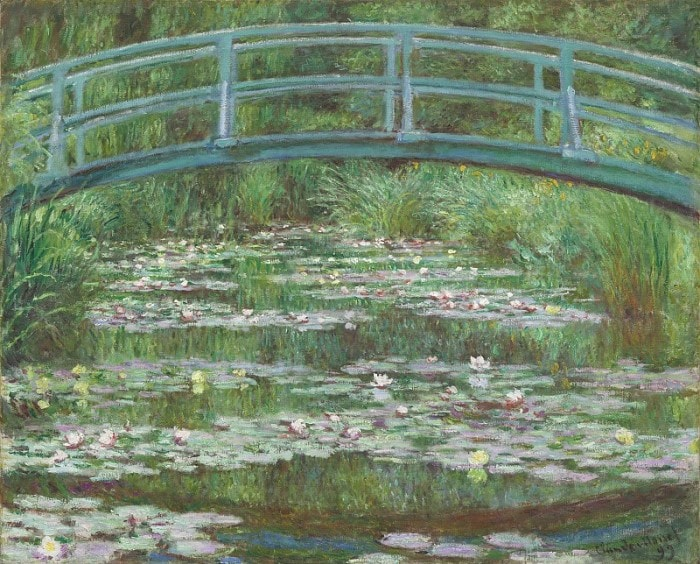 Клод Моне. Японский мостик, 1899 | Фото: gallerix.ru