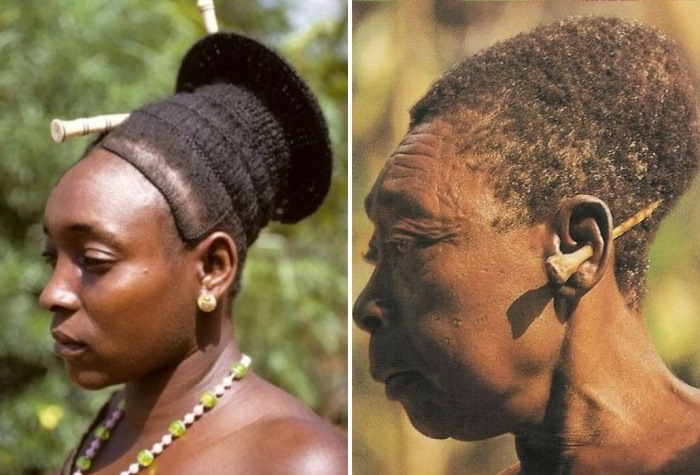 Деформированные черепа представителей африканских племен