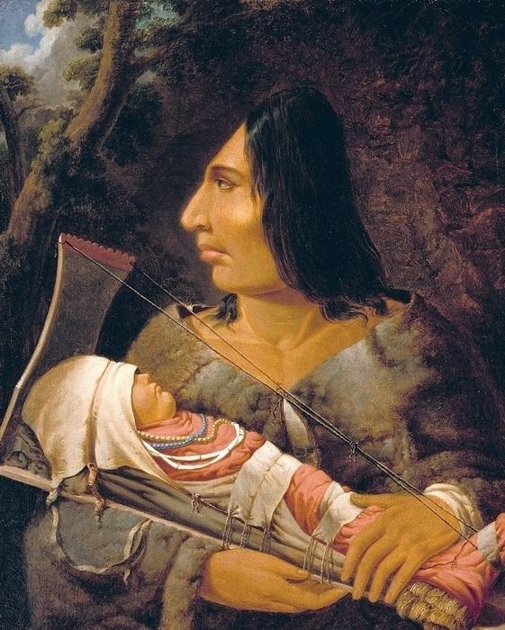 Приспособление для деформации головы у детей индейцев