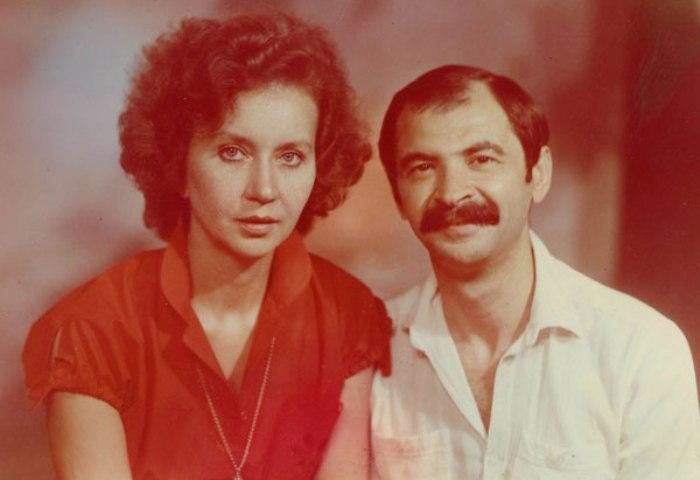 Илья Олейников с женой Ириной | Фото: tele.ru
