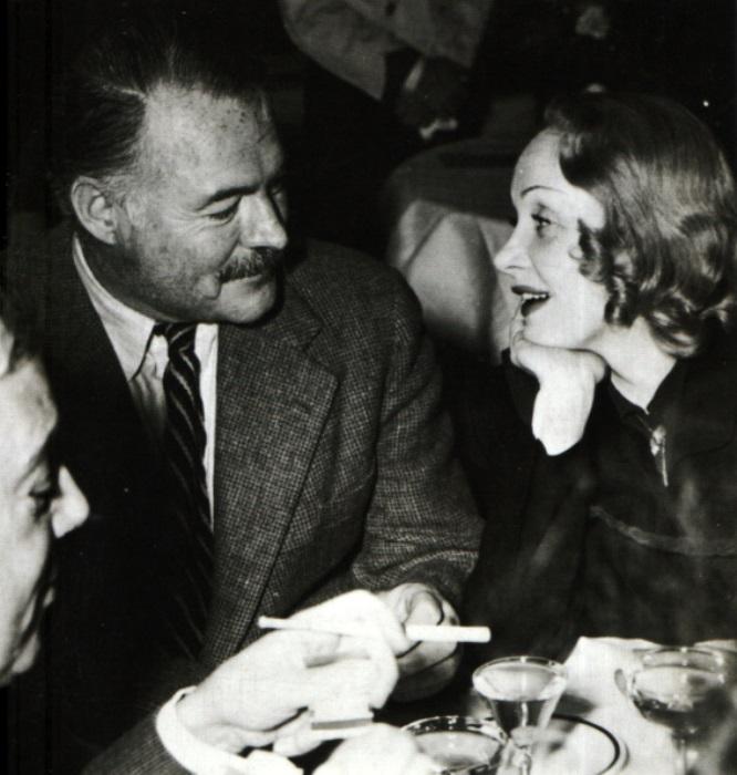 Эрнест Хемингуэй и Марлен Дитрих виделись не больше 10 раз