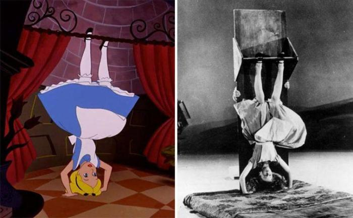 Алиса и ее прототип – Кэтрин Бомонт, 1951 | Фото: 4tololo.ru
