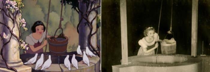 Белоснежка и ее прототип – Мардж Чемпион, 1937 | Фото: liveinternet.ru