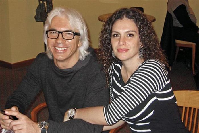 Дмитрий Хворостовский и его вторая жена Флоранс Илли | Фото: 24smi.org