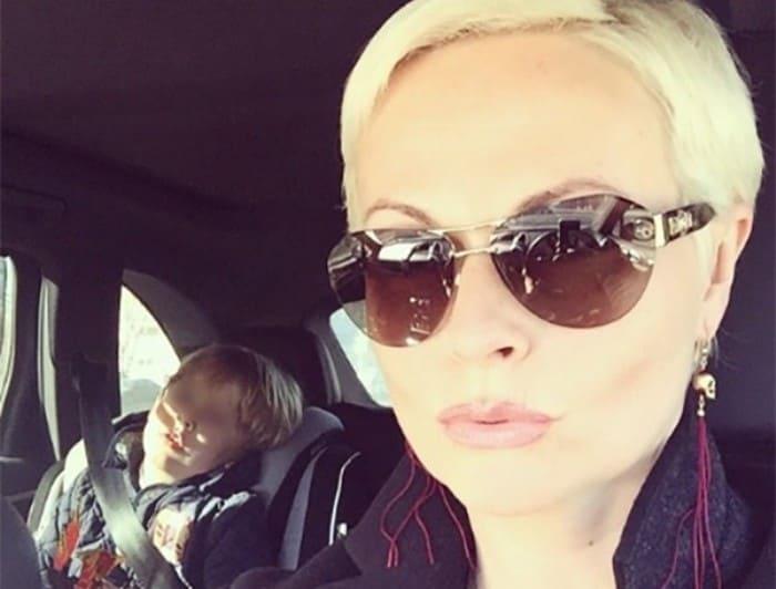 Наталья Коваленко с сыном | Фото: strana-sovetov.com
