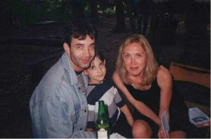 Дмитрий Певцов и Лариса Блажко с сыном | Фото: 24smi.org