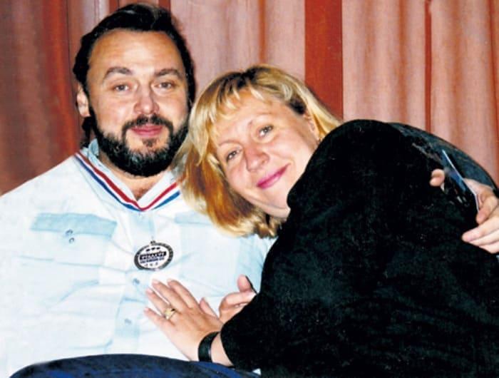 Дмитрий Золотухин и Марина Голуб спустя годы после завершения романа   Фото: eg.ru