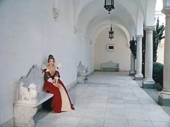 Съемки фильма проходили в Ливадийском дворце   Фото: kino-teatr.ru