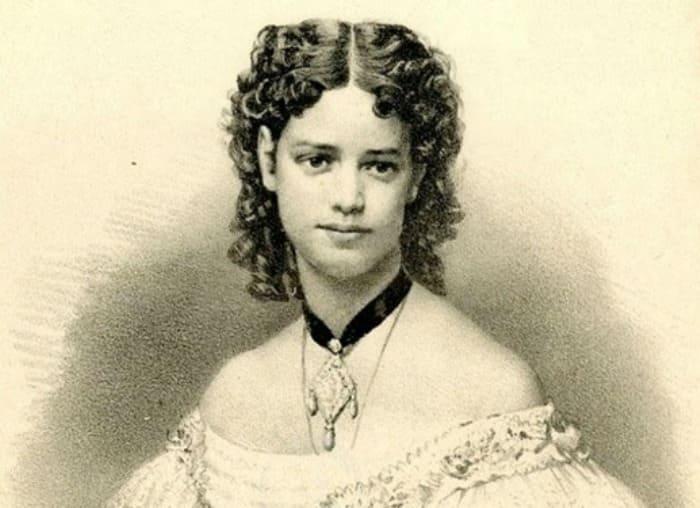 Портрет Марии-Софии-Фредерики-Дагмар. Неизвестный литограф, 1866 | Фото: storyfiles.blogspot.com