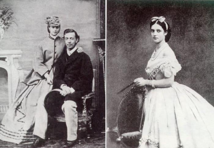 Датская принцесса с женихом, цесаревичем Николаем | Фото: norse.ru и dagmaria.dk