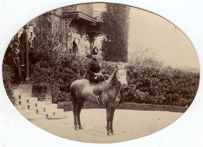 Мария Федоровна в Ливадии, 1880-е гг. | Фото: norse.ru