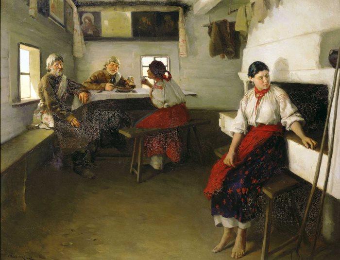 Н. Пимоненко. Сваты