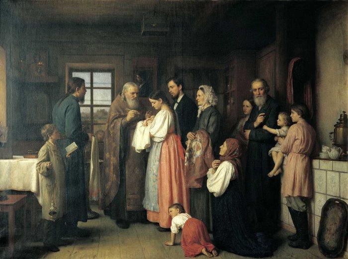 Основной задачей женщины было воспитание детей