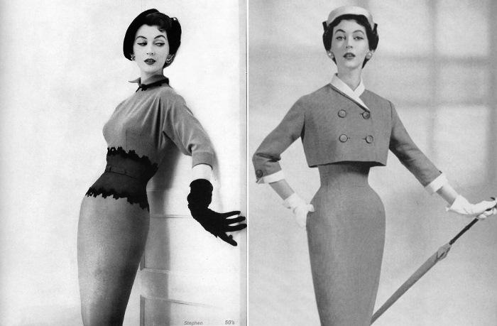 Обладательница самой тонкой талии среди моделей 1950-х