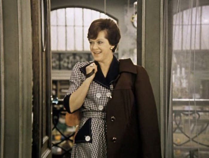 Алиса Фрейндлих в фильме *Служебный роман*, 1977   Фото: culture.ru