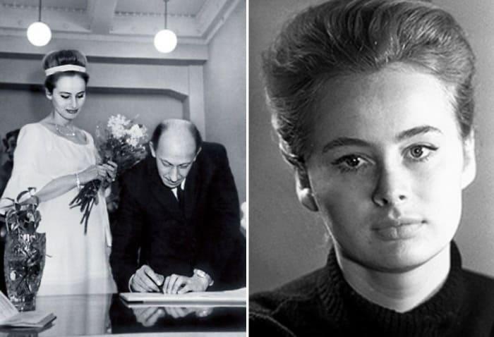 Родители Марии, Евгений Евстигнеев и Мария Селянская | Фото: rustars.tv, kino-teatr.ru