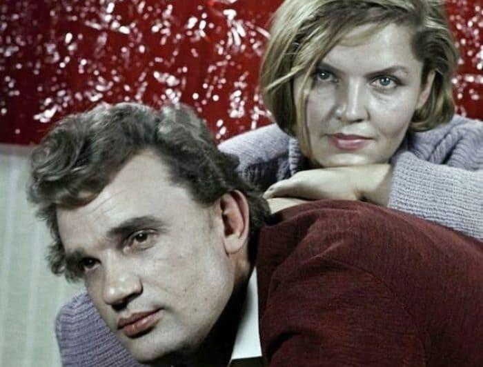 Актриса с мужем, Евгением Урбанским | Фото: kino-teatr.ru