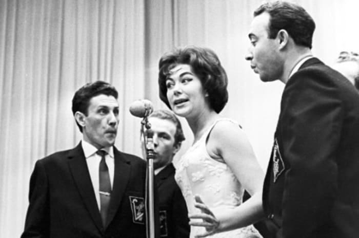 Эдита Пьеха и ансамбль *Дружба*, 1962 | Фото: aif.ru