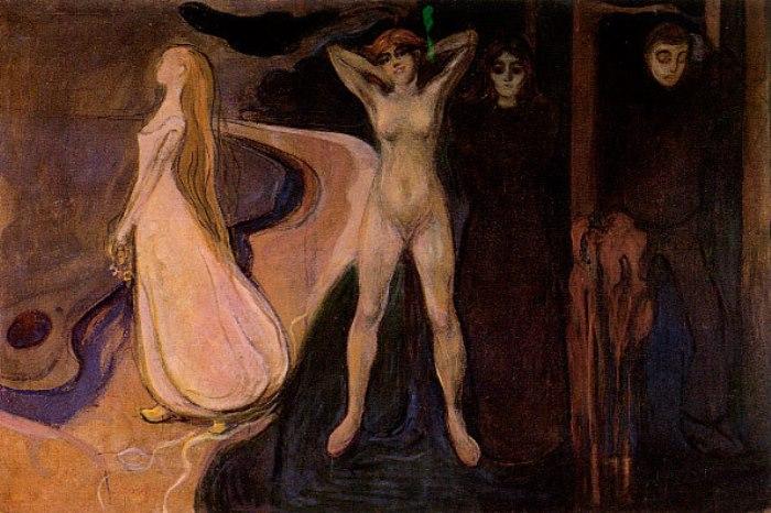 Эдвард Мунк. Три периода жизни женщины, 1895 г.